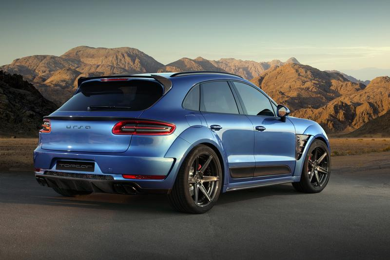 Topcar Reveals Muscly Wide Body Kit For Porsche Macan Performancedrive