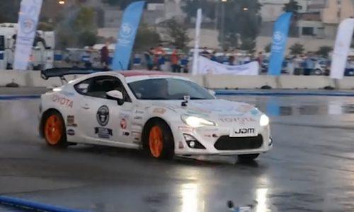 Video: Toyota 86 breaks longest drift world record