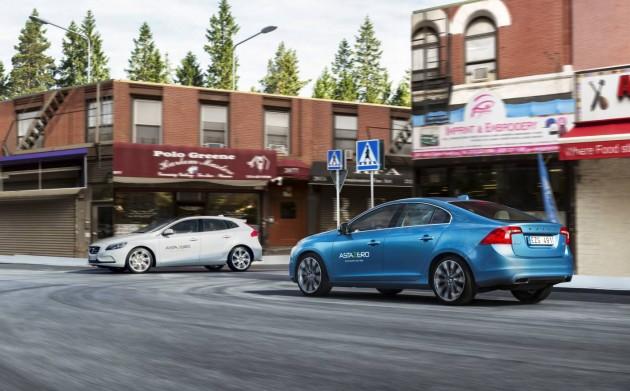 Volvo AstaZero-intersection