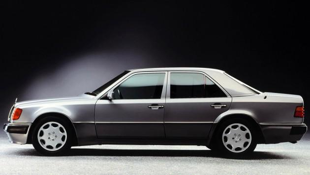 1990s Mercedes-Benz 500 E
