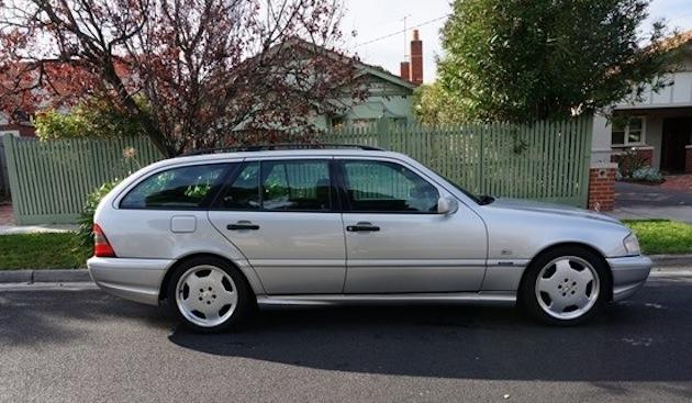 1998 Mercedes C 43 AMG Estate