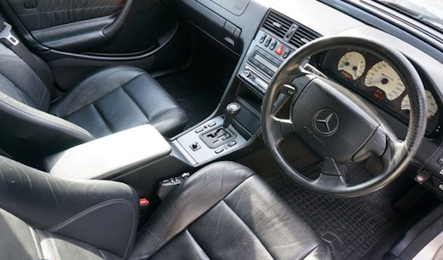1998 Mercedes C43 AMG Estate interior