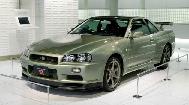 2002 Nissan Skyline R34 V-Spec Nur