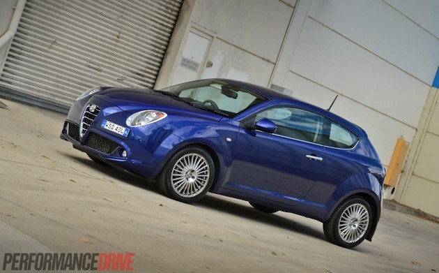 2014 Alfa Romeo MiTo Distinctive-blue