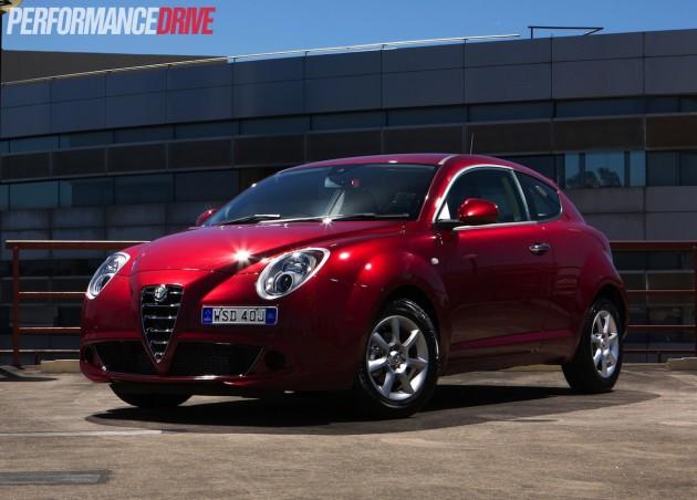 2014 Alfa Romeo MiTo TwinAir front exterior