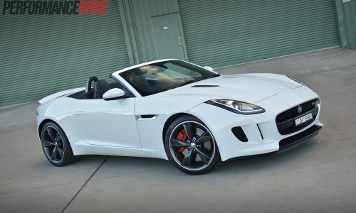 2014 Jaguar F-Type V6 S review (video)