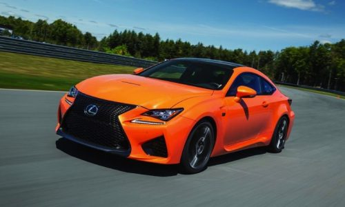 Lexus RC F V8 engine produces 351kW and 550Nm