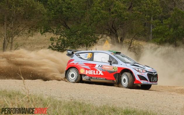 2014 Rally Australia-Hyundai