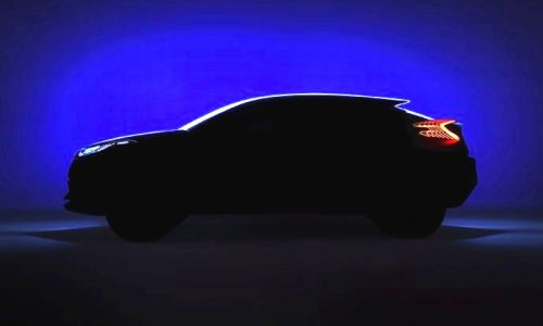 Toyota C-HR concept to debut at Paris, Corolla-based SUV