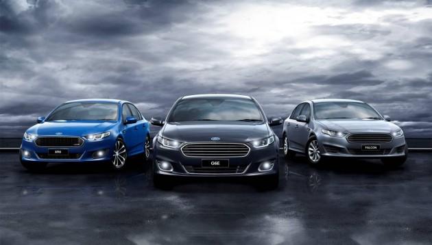 2015 Ford Falcon range
