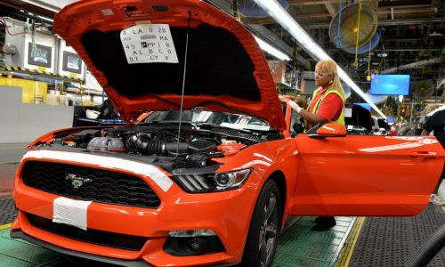 2015 Ford Mustang production now underway