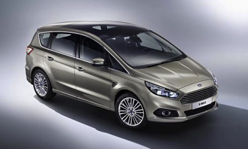 2015 Ford S-Max revealed before Paris debut