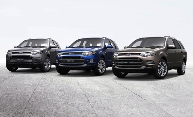 2015 Ford Territory SZ MKII