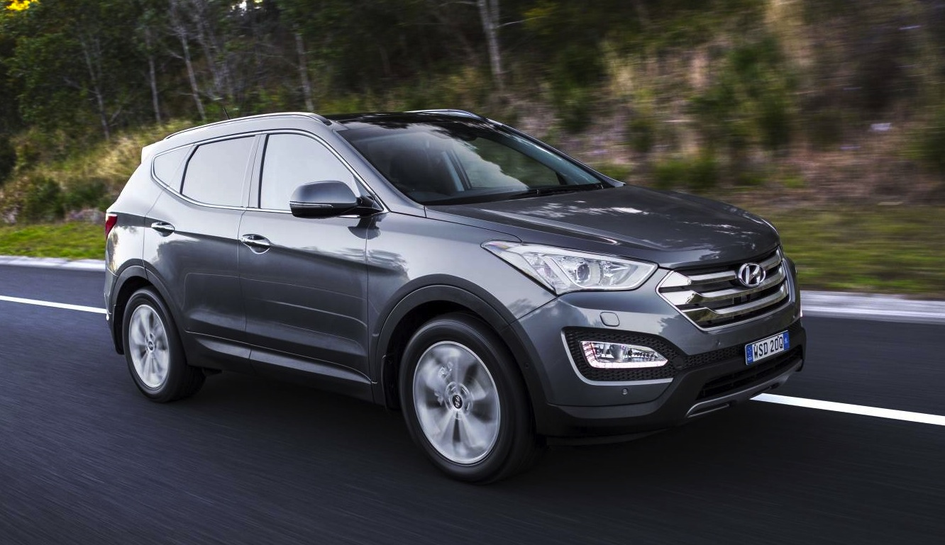 2015 hyundai santa fe on sale in australia from 38 490 performancedrive. Black Bedroom Furniture Sets. Home Design Ideas