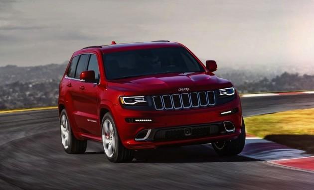 2015 Jeep Grand Cherokee SRT-handling