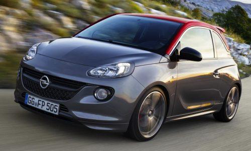 Sporty Opel Adam S production model revealed