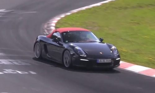 Video: Porsche Boxster & Cayman prototypes with 4cyl?
