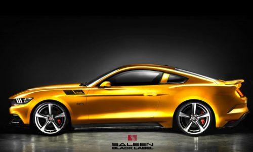 2015 Saleen 302 Mustang, Black Label to get 477kW