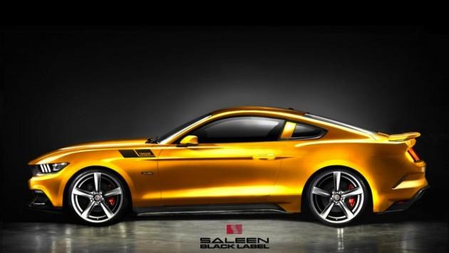 2015 Saleen 302 Mustang Black Label
