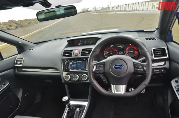 2015 Subaru WRX Premium cabin interior