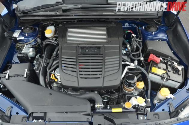 2015 Subaru WRX Premium engine 197kW