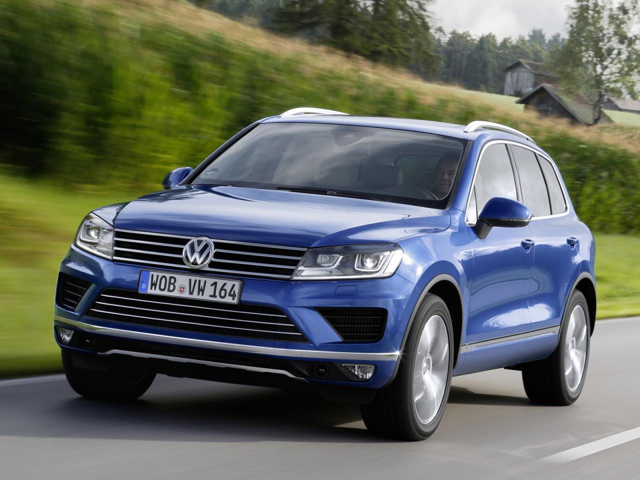 2015 Volkswagen Touareg V6 Tdi Gets Mild Power Boost