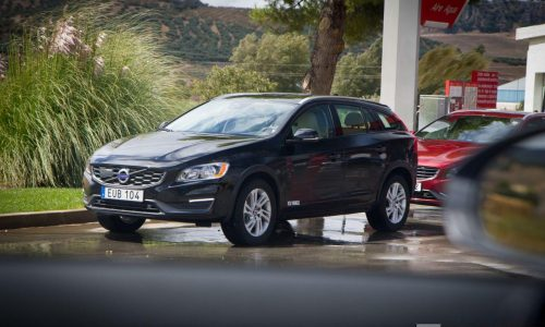 Volvo V60 Cross Country spotted in Spain