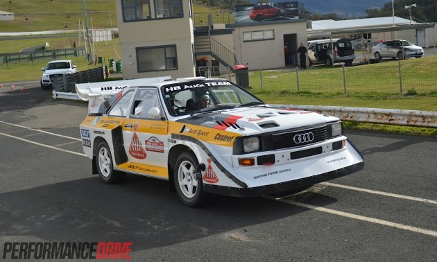 Audi S1 quattro Group B rally-Australia