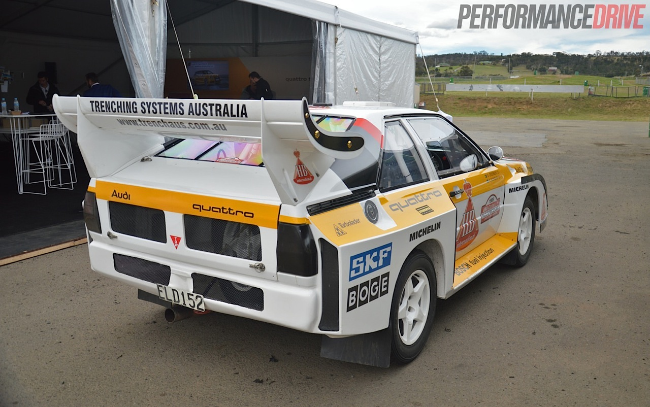 video audi sport quattro group b rally car experience. Black Bedroom Furniture Sets. Home Design Ideas