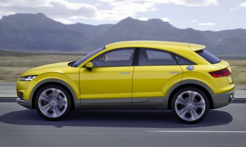 Audi TT crossover variant pretty much imminent – report