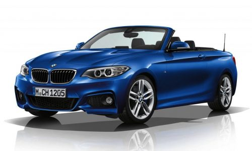 BMW 2 Series Convertible M Sport kit revealed