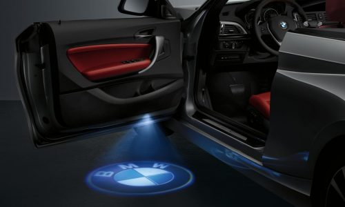 BMW 2 Series Convertible gets optional LED logo projector