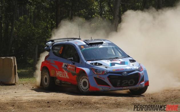 Chris Atkinson Hyundai i20 WRC-Australia