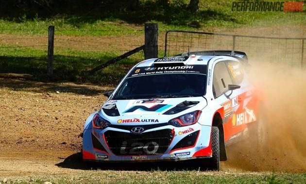Chris Atkinson Hyundai i20 WRC-Jon Thomson