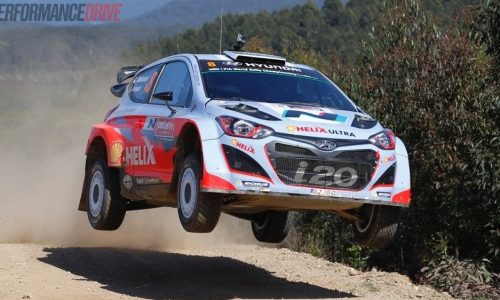 A drive with Chris Atkinson in the Hyundai i20 WRC car (video)