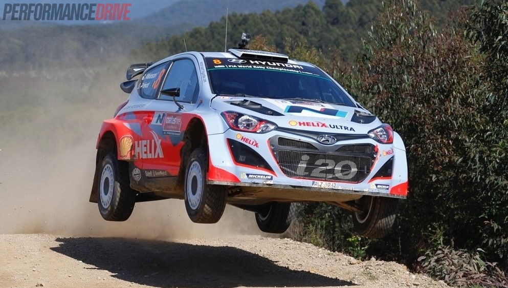A Drive With Chris Atkinson In The Hyundai I20 Wrc Car Video