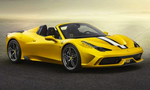 Ferrari 458 Speciale Aperta revealed, fastest spider ever