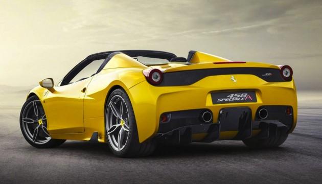 Ferrari 458 Speciale Aperta-rear