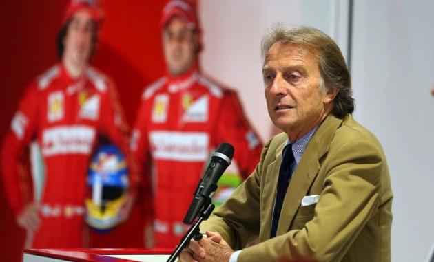 Ferrari boss Montezemolo