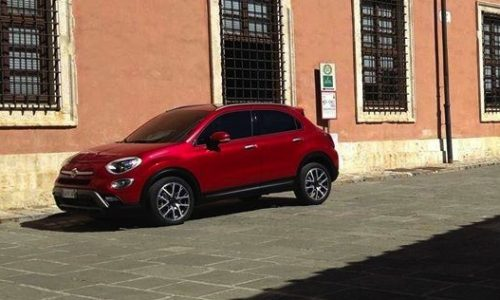 Fiat 500X revealed in leaked image
