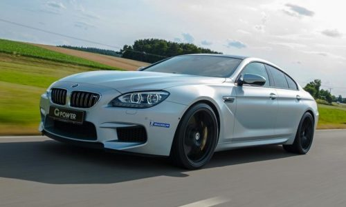 G-Power powers up the mighty BMW M6 Gran Coupe