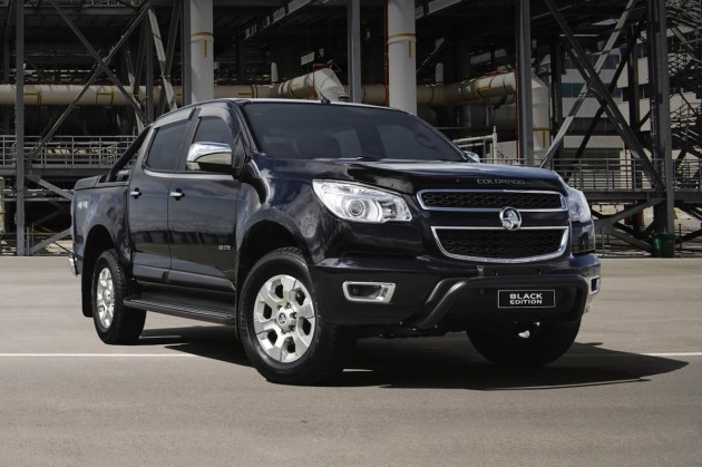 Holden Colorado Black Edition accessory pack