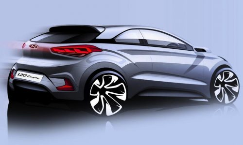 Hyundai i20 Coupe previewed, new sporty three-door