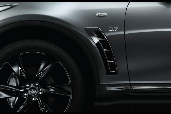 Infiniti QX70 S Design-side vents