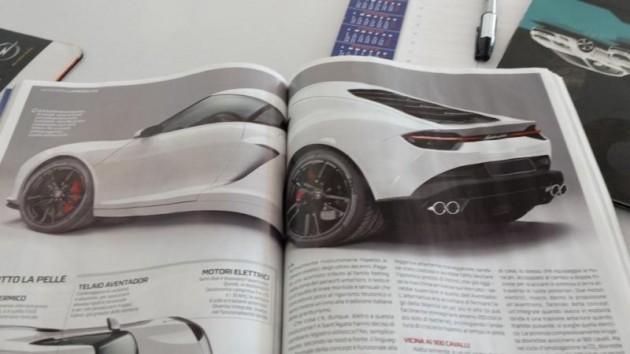 Lamborghini Asterion concept maybe