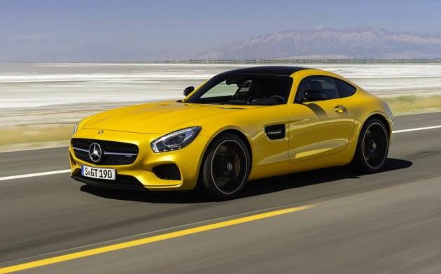 Mercedes-AMG GT-drive