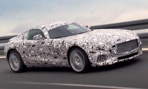 Video: Mercedes-AMG GT will debut September 9