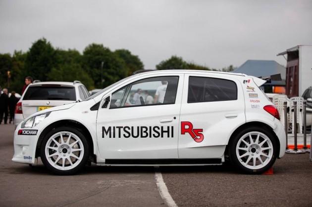 Mitsubishi Mirage R5 WRC 2