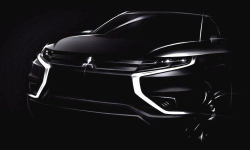 Mitsubishi Outlander PHEV Concept-S previews new model