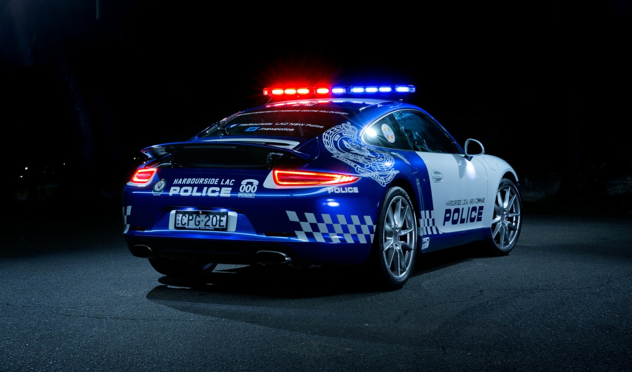 Honda Type R 2018 >> Porsche 911 Carrera police car joins NSW Force ...